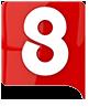 Логотип телеканала 8 Новосибирск